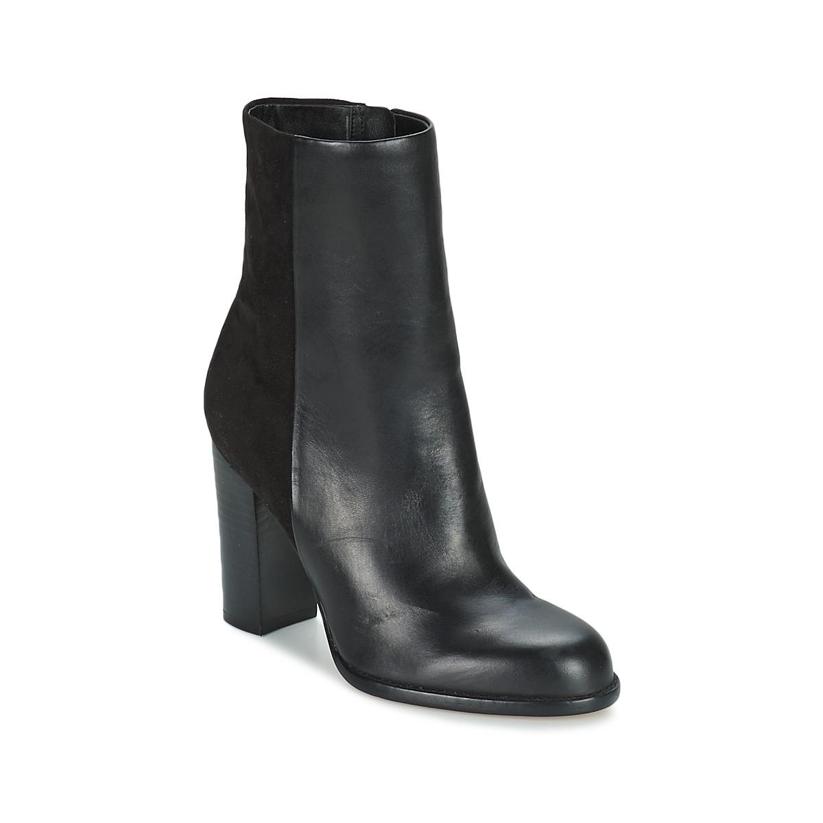 252b3892dfe3 hot sale 2017 Sam Edelman REYES BLACK Shoes Ankle boots Women ...