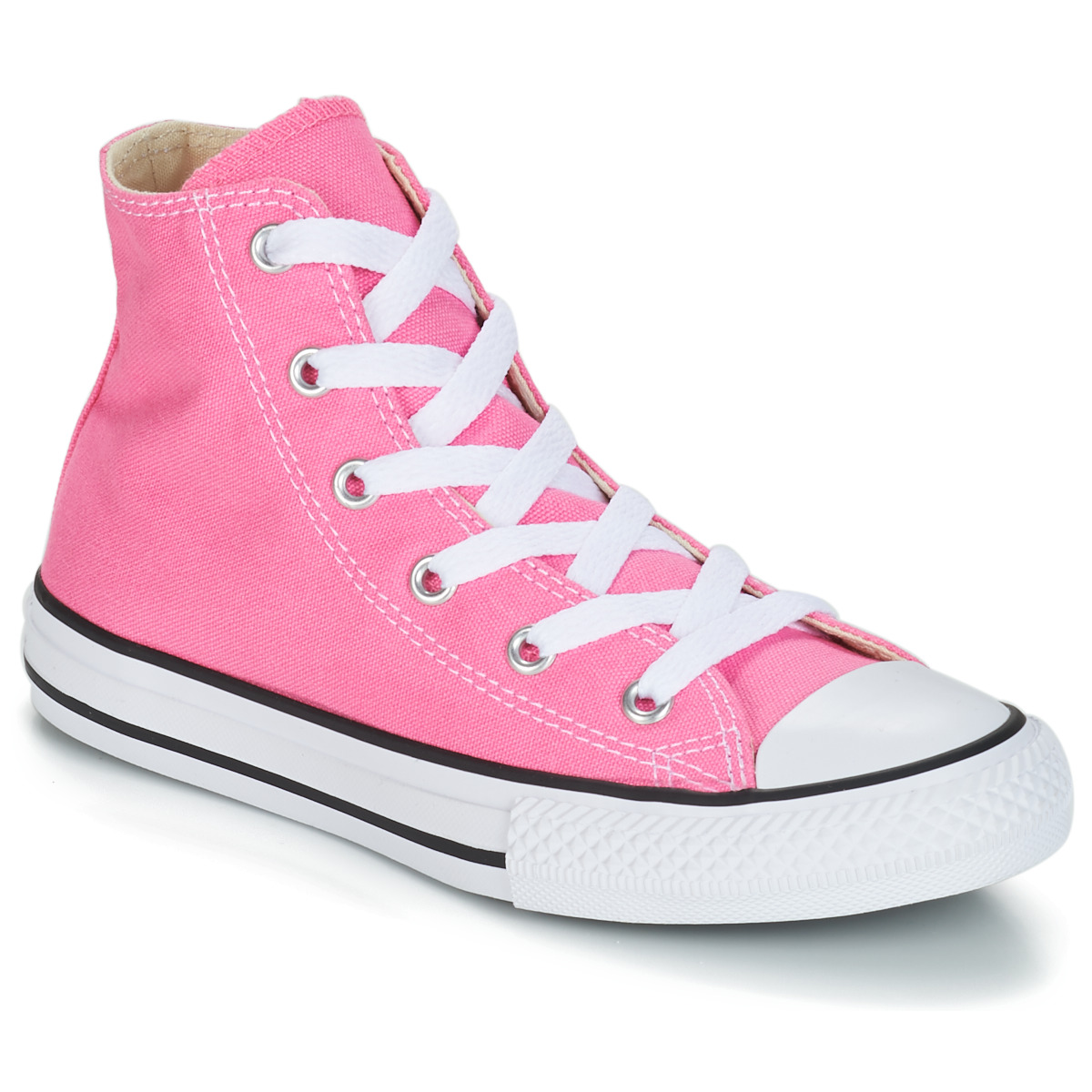 a91bf9e3e7aa Converse ALL STAR HI Pink Shoes Hi top trainers Child chic ...