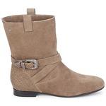 Mid boots Couleur Pourpre TAMA