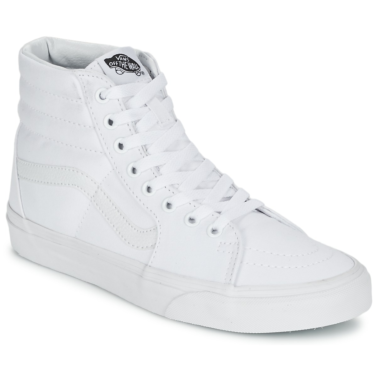 70abd85180 Vans SK8-HI White Shoes Hi top trainers high-quality - cculb.coop