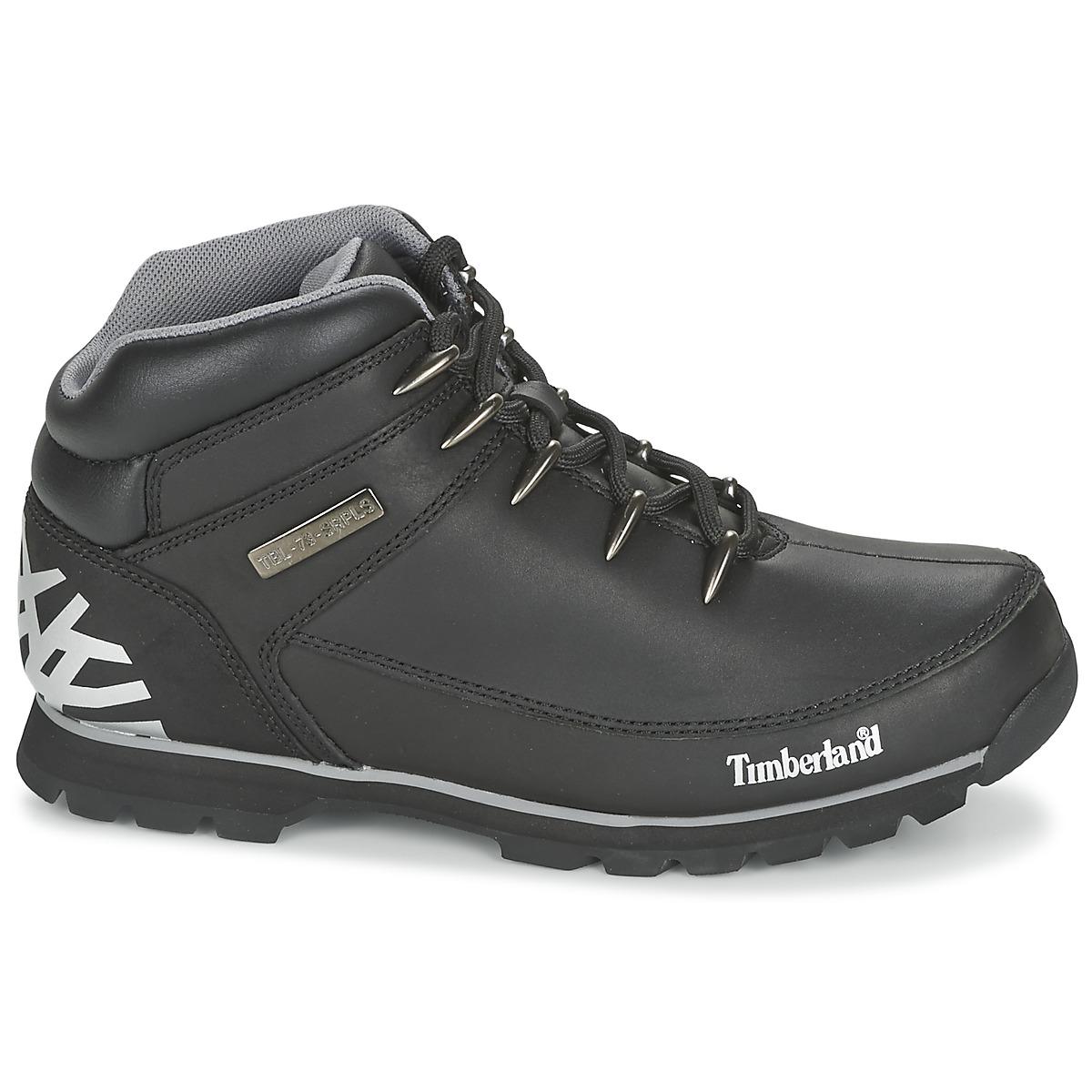 491b29fe71c 80%OFF Timberland EURO SPRINT HIKER Black Shoes Mid boots Men ...