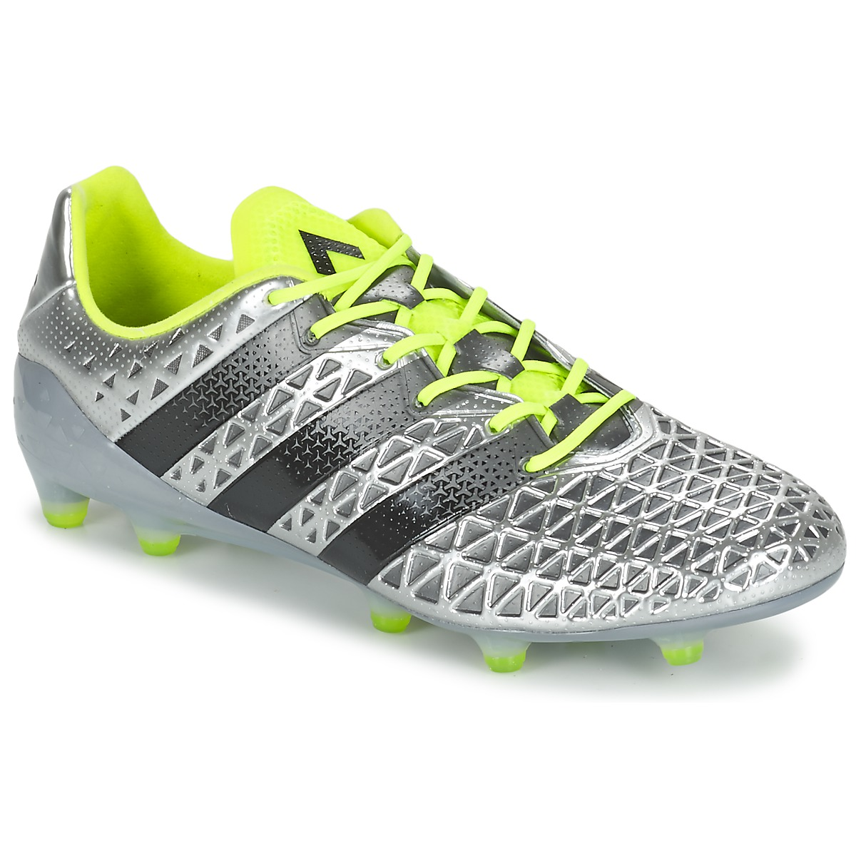 timeless design 7d3a1 9259c adidas Performance ACE 16.1 FG Silver Shoes Football shoes ...