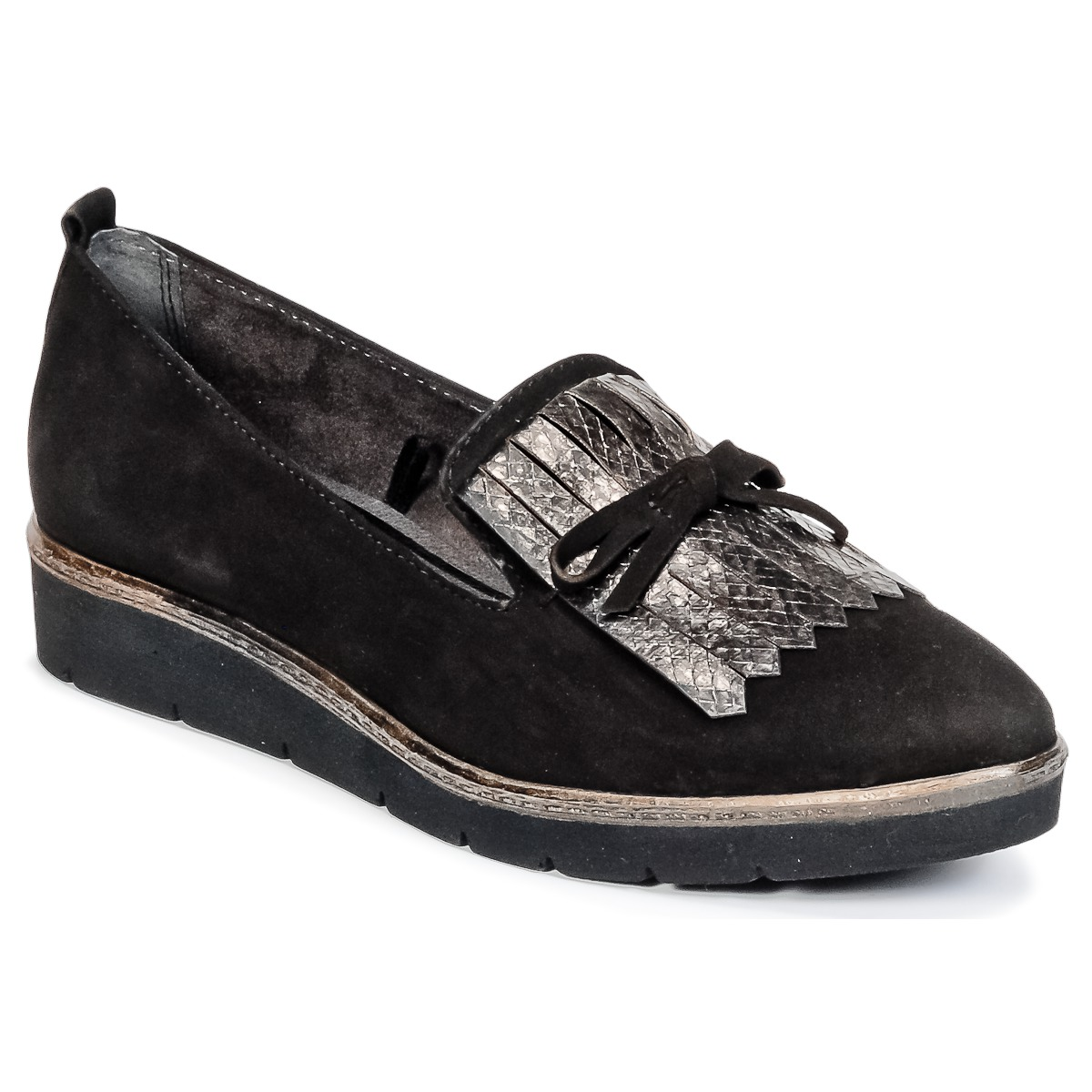 1b63549ccab cheap Tamaris NADYMA Black Shoes Derby Shoes Women - s132716079 ...