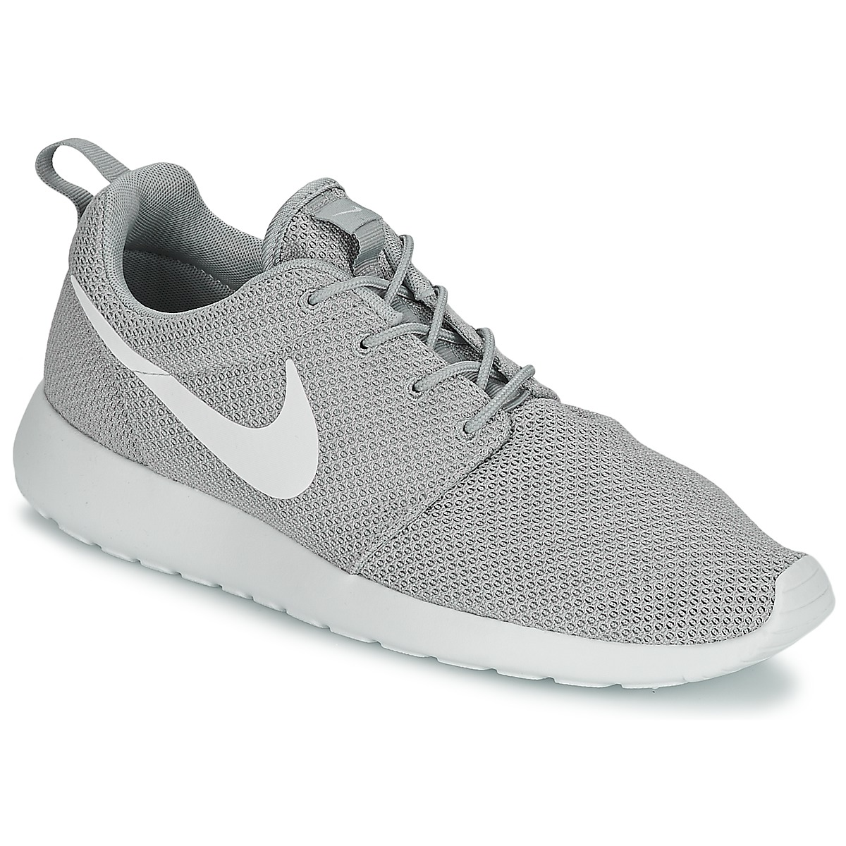 d94df0155749 80%OFF Nike ROSHE RUN Grey White Shoes Low top trainers Men ...
