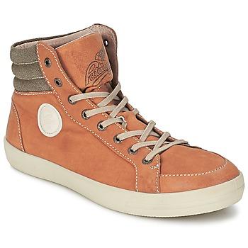 Shoes Men Hi top trainers Pataugas CLEFT H Camel