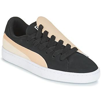 Shoes Women Low top trainers Puma WN BASKET CRUSH PARIS.SILV Black