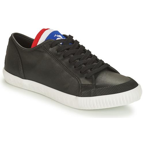 Shoes Low top trainers Le Coq Sportif NATIONALE Black