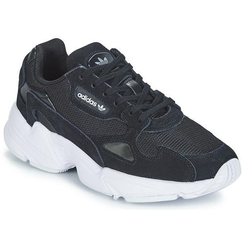 Shoes Women Low top trainers adidas Originals FALCON W Black