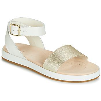 Shoes Women Sandals Clarks BOTANIC IVY White