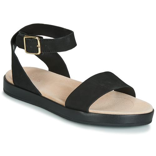 Shoes Women Sandals Clarks BOTANIC IVY Black