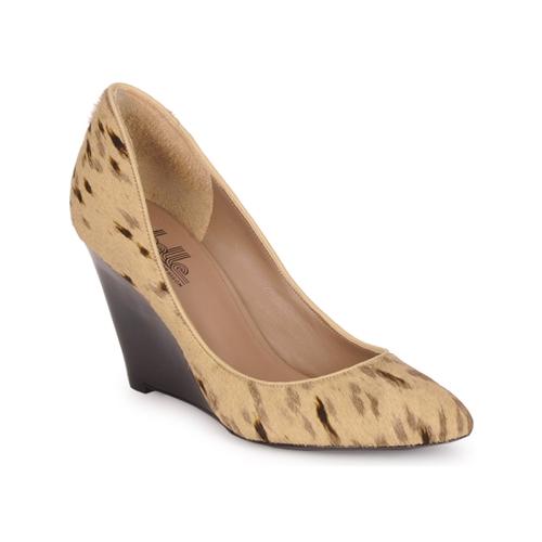 Shoes Women Heels Belle by Sigerson Morrison HAIRMIL Beige / Black