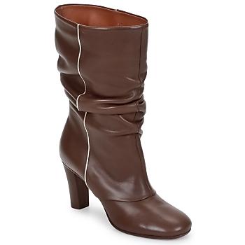 Shoes Women Ankle boots Michel Perry SAHARA Khaki
