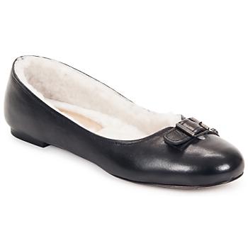 Shoes Women Flat shoes Keyté ASTOR Black