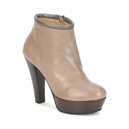 Shoes Women Shoe boots Keyté POULOI Taupe