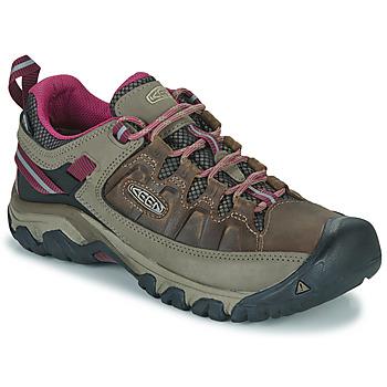 Shoes Women Walking shoes Keen TARGHEE III WP Brown / Pink