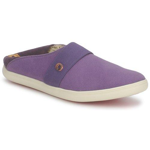 Shoes Slip-ons Dragon Sea XIAN TOILE Prune
