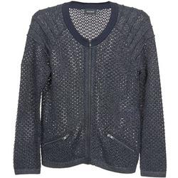 Clothing Women Jackets / Cardigans Kookaï TOULIA Marine