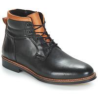 Shoes Men Mid boots André SINTRA Black