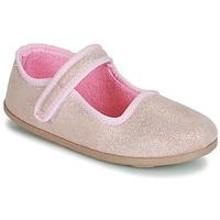 Shoes Girl Flat shoes André VIOLINE Pink
