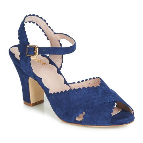 Shoes Women Sandals Miss L'Fire BEATRIZ Blue
