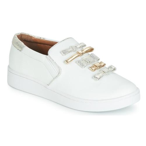 Shoes Women Slip-ons Cristofoli JOLA White