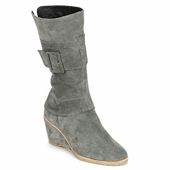 Shoes Women Ankle boots Regard RUBANO Grey