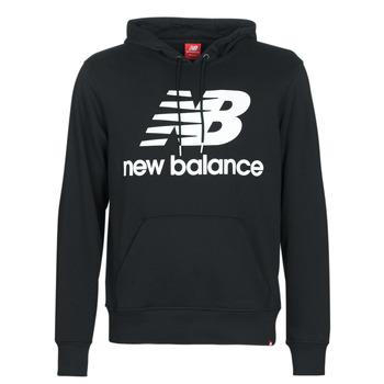Clothing Men sweaters New Balance NB SWEATSHIRT Black