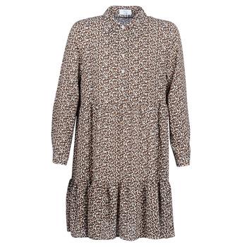 Clothing Women Short Dresses Betty London JECREHOU Beige / Brown