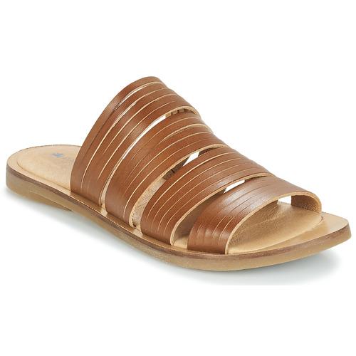 Shoes Women Mules El Naturalista TULIP Brown