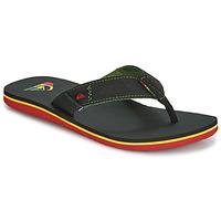 Shoes Men Flip flops Quiksilver MOLOKAI ABYSS M SNDL XGKG Black