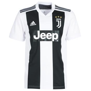 Clothing Men short-sleeved t-shirts adidas Originals JUVE JERSEY Black