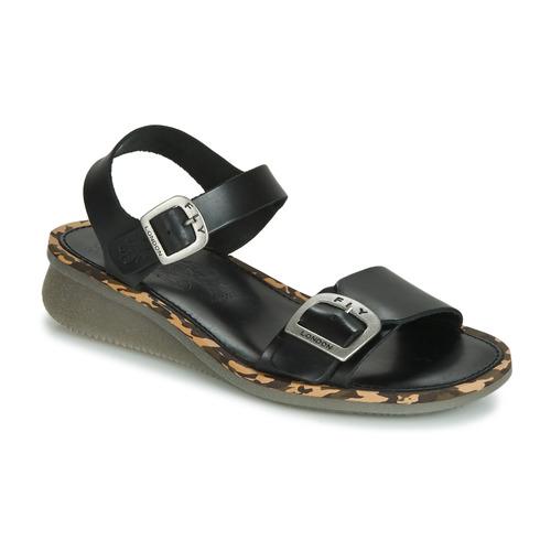 Shoes Women Sandals Fly London COMB  black