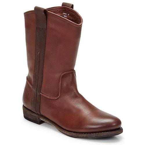 Shoes Men Mid boots Blackstone BOLOGNA HORSES Brown