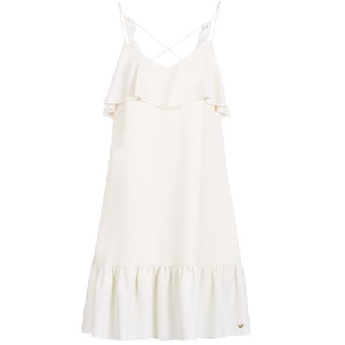 Clothing Women Short Dresses Les Petites Bombes AZITARBE White