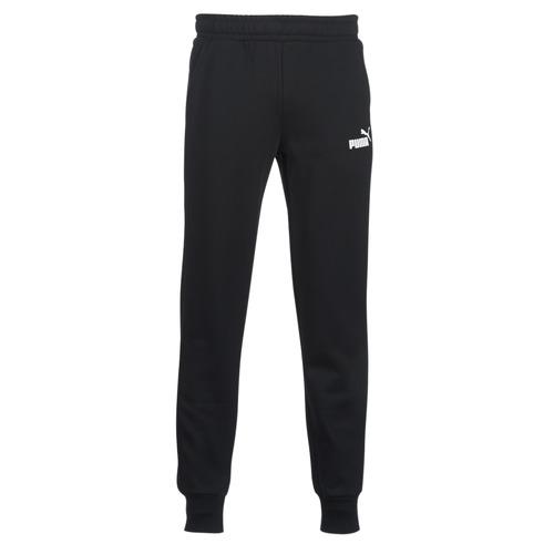 Clothing Men Tracksuit bottoms Puma SWEAT PANT Black