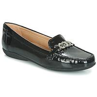Shoes Women Loafers Geox D ANNYTAH MOC Black