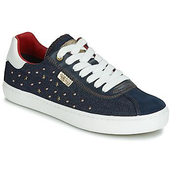 Shoes Girl Low top trainers Geox J KILWI GIRL Marine
