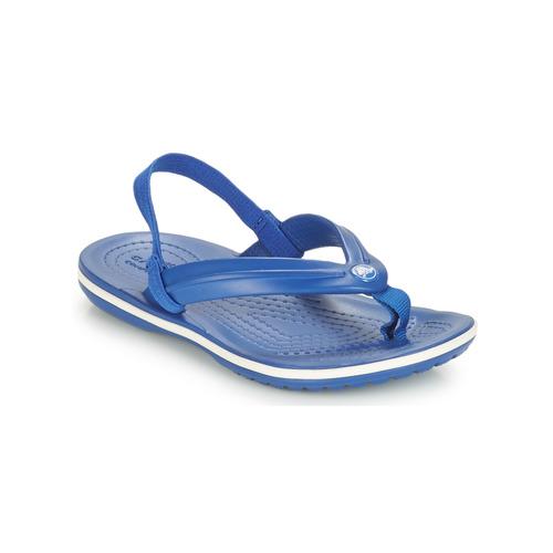 Shoes Children Sandals Crocs CROCBAND STRAP FLIP K Blue