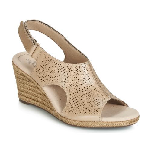 Shoes Women Sandals Clarks LAFLEY ROSEN Nude