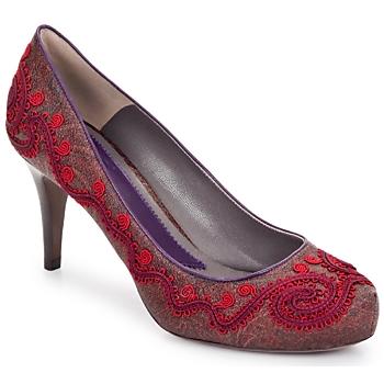 Shoes Women Heels Etro BRIGITTE Red