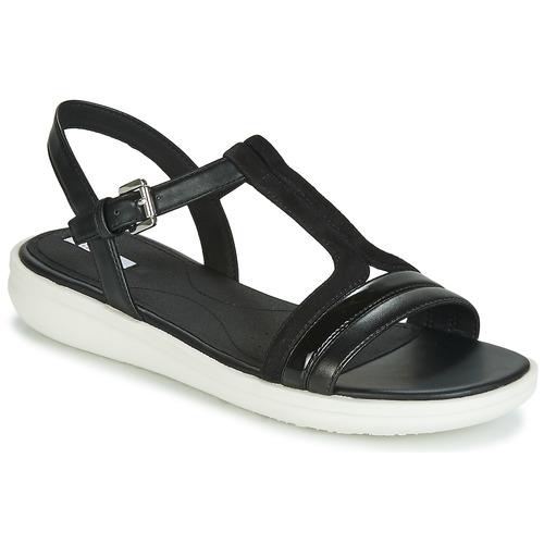 Shoes Women Sandals Geox JEARL SAND B  black