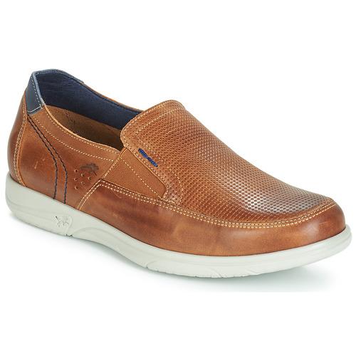 Shoes Men Slip-ons Fluchos SUMATRA Brown