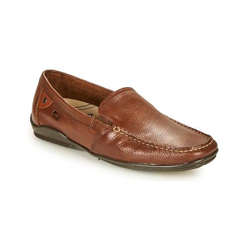 Shoes Men Loafers Fluchos BALTICO Brown