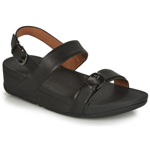 Shoes Women Sandals FitFlop EDIT  black