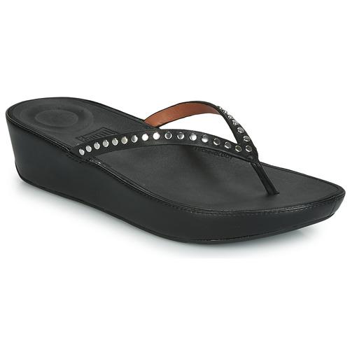 Shoes Women Sandals FitFlop LINNY ROCKSTUD  black
