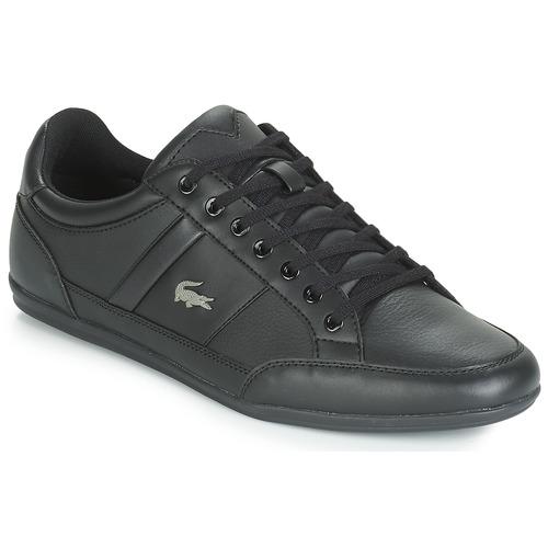 Shoes Men Low top trainers Lacoste CHAYMON BL 1 Black