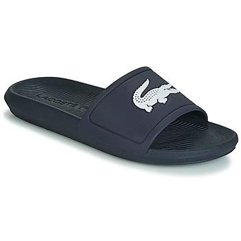 Shoes Men Tap-dancing Lacoste CROCO SLIDE 119 1 Marine / White