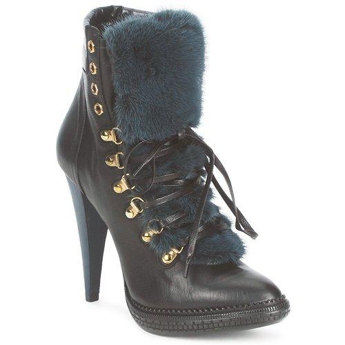 Shoes Women Ankle boots Roberto Cavalli QPS583-PZ260 Brown