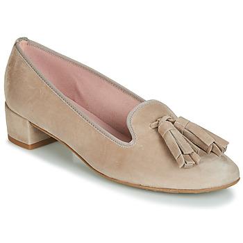 Shoes Women Heels Pretty Ballerinas ANGELIS Beige