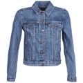 Levis  ORIGINAL TRUCKER  womens Denim jacket in Blue